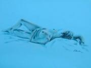Nudo in azzurro