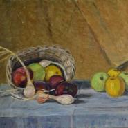 cesto e 4 mele