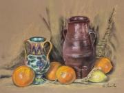 vasi, arance, limoni