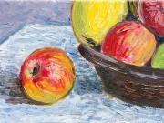 cesto mele - particolare