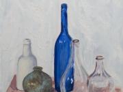la bottiglia blu