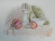 Natura morta con mele